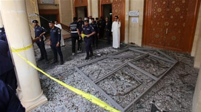 The bombing during Friday prayers in late June killed 27 Shia Muslims and wounded hundreds [AP]