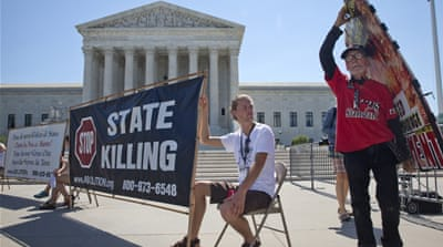 The US Supreme Court reinstated the death penalty in 1976 [AP]