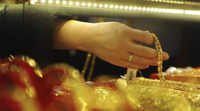 The Shanghai Gold Exchange ranks fourth worldwide for global gold transactions [Jon Woo/Reuters]