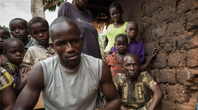 Refugees from CAR were plunged into unrest after the mainly Muslim Seleka rebel alliance seized power [AFP]