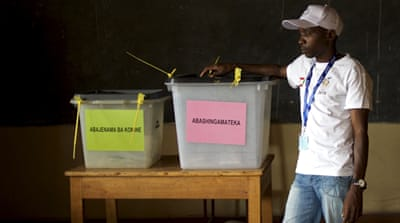 Burundi president claims early victory in elections