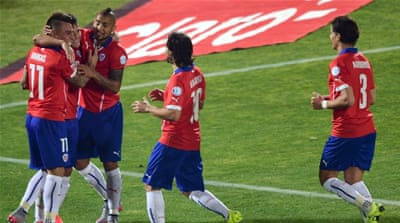 Chile are one win away from their maiden Copa America triumph [Getty Images]