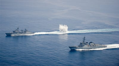 South Korean naval vessels have been involved in a number of clashes with North Korean vessels [File: EPA]