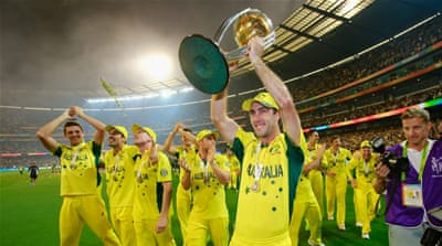 Australia beat New Zealand to win their fifth World Cup and the first at home [Getty Images]