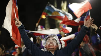 Chileans have become famous for being among the world's most fanatic fans [AP]