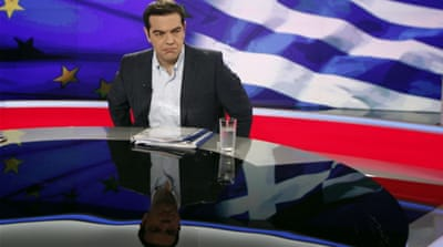 Tsipras says that the upcoming referendum is not about staying in the eurozone [EPA]