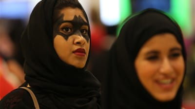 This year, the Middle East Film and Comic Con drew around 50,000 attendees [AP]