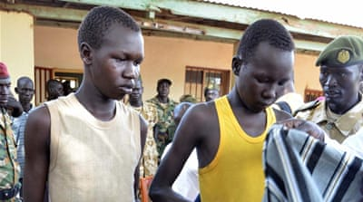 In South Sudan, children on the battlefield