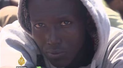 Rescued migrants recall desperate journeys to Europe