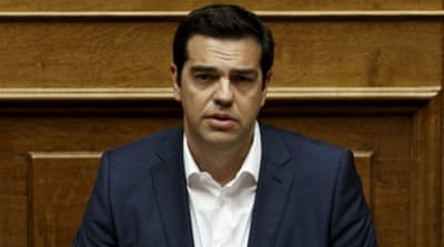 Tsipras told parliament that his government would never accept such a deal [Reuters]