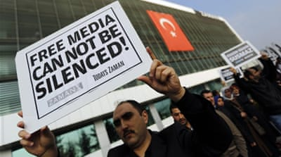 Diminishing press freedom in Erdogan's Turkey