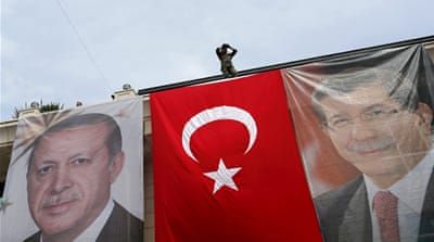 Turkey's AK party vying for coalition partners