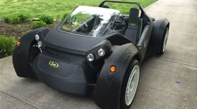 3D-printed car brings hope of a car industry revolution