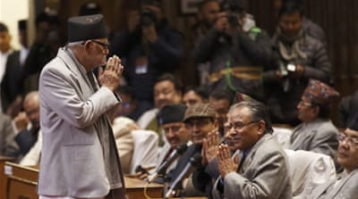 Nepal's political establishment is fond of preaching democracy, writes Bell [Reuters]