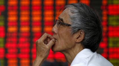 Has China's stock market bubble burst?