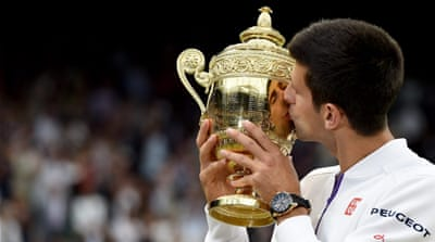 Djokovic's other Wimbledon titles came in 2011 and 2014 [Getty Images]