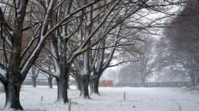 Snowfall in Victoria and New South Wales [Liz Pearson/Al Jazeera]