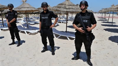 Foreign visitors shun Tunisia's Sousse beach