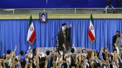 The quarrelling in Iran's domestic political arena could jeopardise the possibility of the talks' success [EPA]