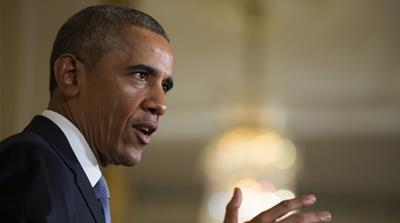 Obama can offer little more than tired cliches, writes LeVine [AP]