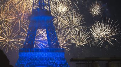 Paris prepares for Bastille Day celebrations [Mustafa Yalcin/Anadolu Agency/Getty Images]