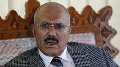 Informant says ex-Yemen president Saleh aided al-Qaeda