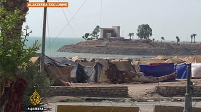 Iraq's former luxury resort now its worst camp