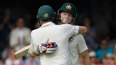 Rogers and Smith have put on 259 runs [Getty Images]