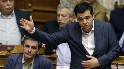 Greek parliament votes Yes for euro bailout deal
