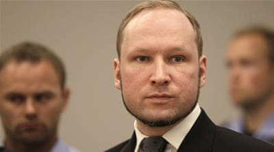 Breivik killed 77 people in in July 2011, claiming he was fighting against multiculturalism and a 'Muslim invasion' [AP]