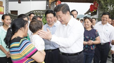 "Chinese president Xi Jinping recently told people in Guizhou that ""poverty is nothing to fear"" [Getty Images]"
