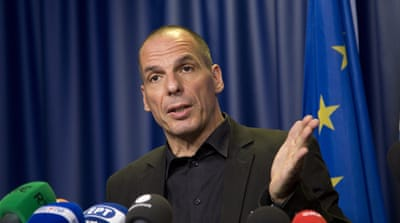 Finance Minister Yanis Varoufakis claimed Greece was being treated as a 'debt colony' that didn't have any rights [AP]