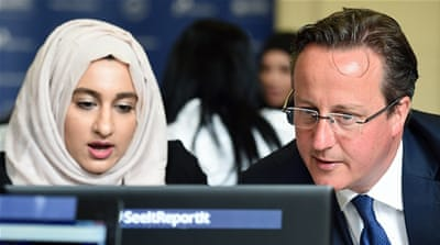 Cameron's new approach will see 'moderate' and 'reforming' Muslim voices sponsored by the central government, writes Sloan [Getty]