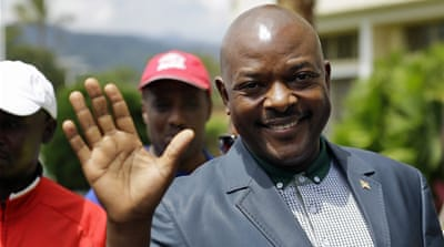Nkurunziza garnered 69.41 percent of the votes cast in the polls on Tuesday [AP]