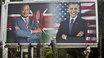 Perceptions of Obama, and his 'Kenyanness' have changed quite radically since 2006, writes Gathara [AFP]
