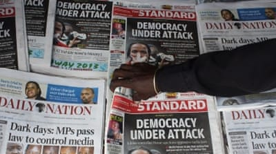 As Obama visits, Kenyans warn of waning press freedom