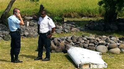 France's air crash investigation agency said it is studying a piece of plane debris found on Reunion Island [AFP]