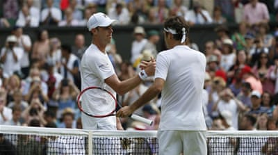 Federer has reached the third round of Wimbledon [AP]