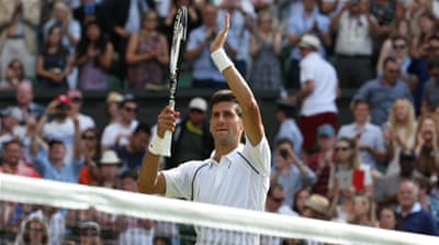 Djokovic has not dropped a single set this tournament [Getty Images]