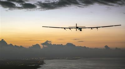 Record-breaking flight shows the power of solar energy
