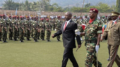 In an effort to ease tensions, African leaders have called for the July 15 Burundi presidential polls to be delayed to July 30 [AP]