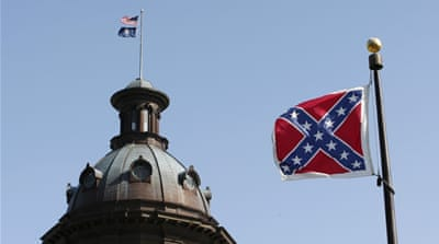 US state debates removing Confederate flag from capitol