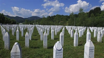 "Serbia in 2010 acknowledged that a ""grave crime"" took place in Srebrenica, but stopped short of calling it a genocide [Reuters]"