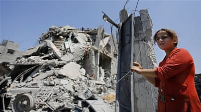 The 50-day war in 2014 left Gaza with $1.4bn in direct and indirect damages and $1.7bn in economic losses [EPA]