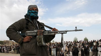 The Taliban has pressed on with its spring offensive despite the talks [AFP]
