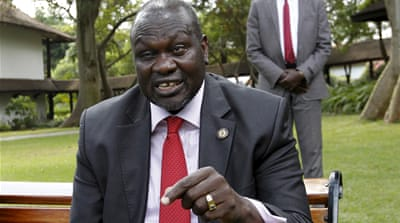 Machar has rejected accusations levelled at his own troops and insists he too is a 'victim' of the conflict [Reuters]