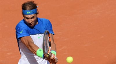 Nadal has lost to Fognini twice this season already [EPA]