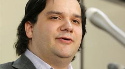 Karpeles had reportedly refused to travel to the US, where he was being asked to appear for questioning in connection with MtGox's collapse [AP]