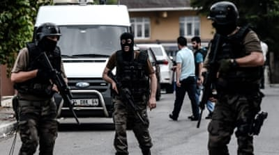 Turkish security forces targeted in series of attacks
