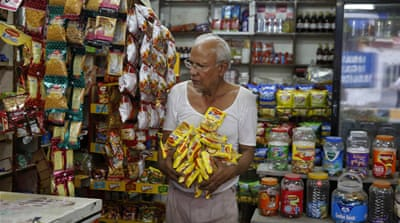 Shopkeepers removed Maggi two-minute noodles from their stores after the ban earlier this year [AP]